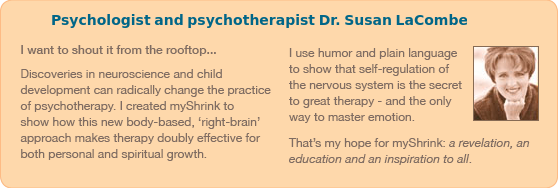 I want to shout it from the rooftop...recent discoveries in neuroscience and child development can radically change the practice of psychother