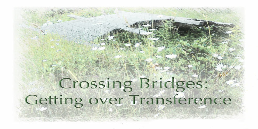 Creating bridges to get over transference